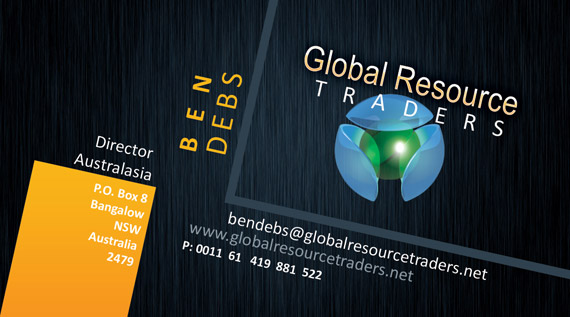 Business cards global resource brokers bcard reheart Image collections